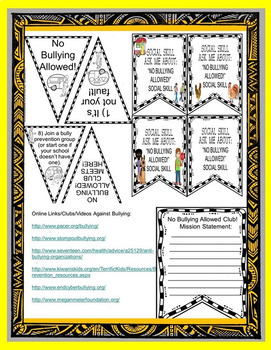 Social Skill/Story No Bullying Allowed!  No PPT Rescue Dogs' Series Autism/ELD