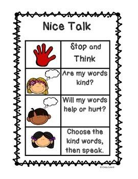 Social Skills 101: Nice Talk