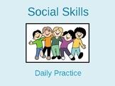 Social Skills- Interactive Units