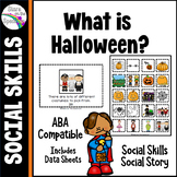 Halloween Social Skills Social Story Autism