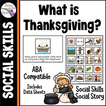 Autism Social Skills Thanksgiving
