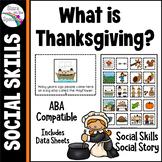 Thanksgiving Social Story Social Skills Autism