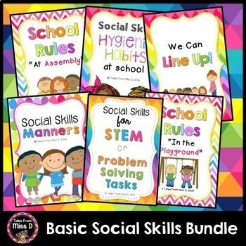 Social Skills Basic Skills Bundle