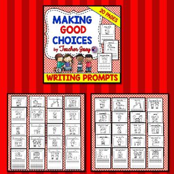 Social Skills Writing Prompts Bundle