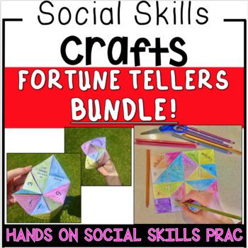 Social Skills Activities - Fortune Tellers Craft -  BUNDLE