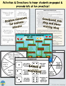 Social Skills Activities | Teens | Conflict Resolution Language | High School