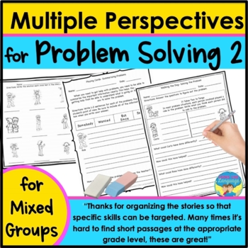 Problem Solving Social Skills and Perspective Activities 2
