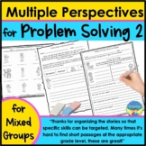 Speech & Language Activities for Mixed Group- Problems, Na