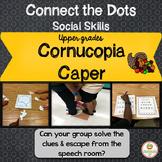 Thanksgiving Social Skills Group Work