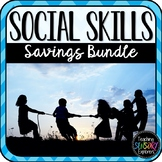 Social Skills Activities for Students with Autism BUNDLE