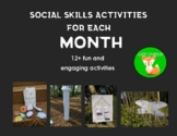 Social Skills Activities for each Month