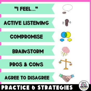 Social Skills Activity Conflict Resolution