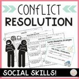 Conflict Resolution Social Skills Notes and Activities for Middle School