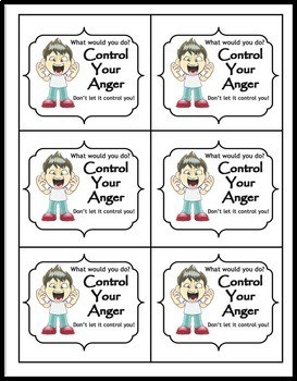 Anger Management: What Would You Do Cards