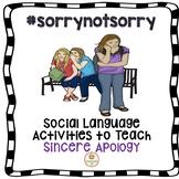 Social Skills Apologizing