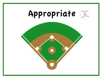 Social Skills - Appropriate Not Appropriate Cards