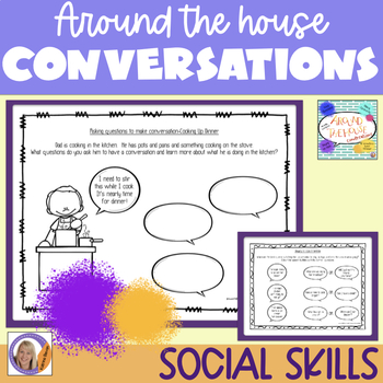 Social Skills for autism: Around The House Conversations
