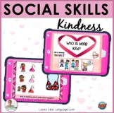 BOOM Cards Distance Learning Speech Therapy | Social Skills | Kindness
