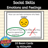 Social Skills BOOM Cards™ - ABA BOOM Cards™ - Emotions and
