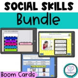 Social Skills BOOM Cards BUNDLE 2----5 sets Speech Therapy