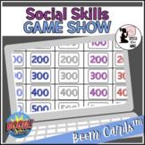 Social Skills BOOM Cards™ Game Show - Pragmatic Language D