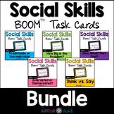 Social Skills BOOM™ Task Cards Bundle