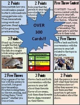 Social Skills Basketball- A Social Skills Card Game