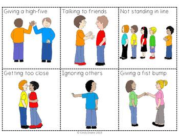 Social Skills Behavior Sorting