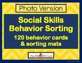 Social Skills Behavior Sorting- Photo Version