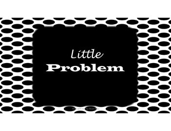 Social Skills Big and Little Problem Task Card Sort FREEBIE