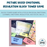 Pictured Based Emotional Regulation Block Tower Game
