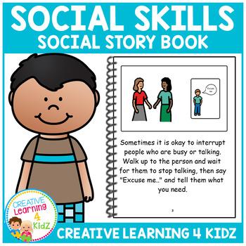 Social Story Social Skills Book Autism