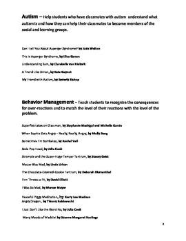 Social Skills Book List