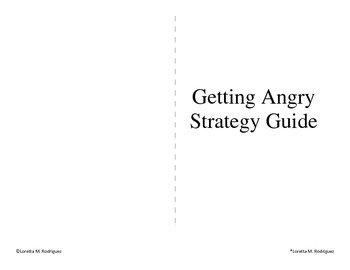 Social Skills Book for Kids Getting Angry