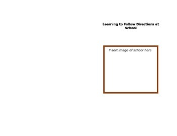 Social Skills Book for Kids Learning to Follow Directions