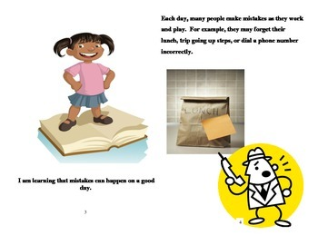 Social Skills Book for Kids Mistakes Can Happen on a Good Day
