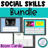 Social Skills Boom Cards Bundle 5 sets Speech Therapy Pers