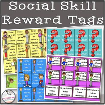 Social Skills Brag Tags