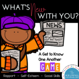 Social Skills Game: Get to Know One Another