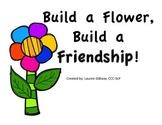 Social Skills - Build a Flower, Build a Friendship!