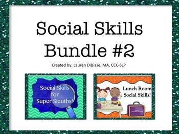 Social Skills Bundle #2