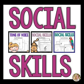 Social Skills Activities   Speech and Language Therapy