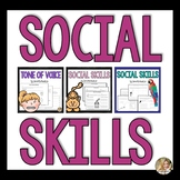 Social Skills Activities Bundle | Speech and Language | Special Education