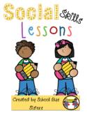 Social Skills Lessons & Activities Bundle