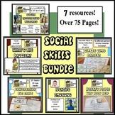 Social Skills Bundle Autism, ABA