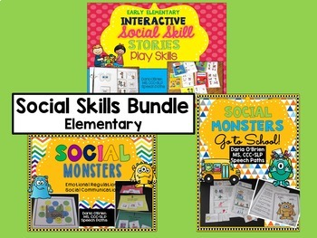 Social Skills Bundle: Elementary