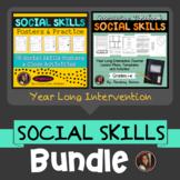 Social Skills Bundle - Interactive Notebooks, Posters & Close Activity