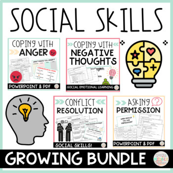 Social Skills Bundle for Middle School by Special Middle
