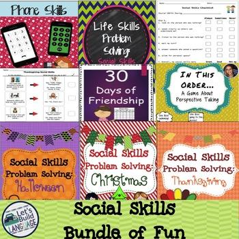Social Skills Bundle of Fun- SAVE!