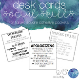 Social Skills Squares